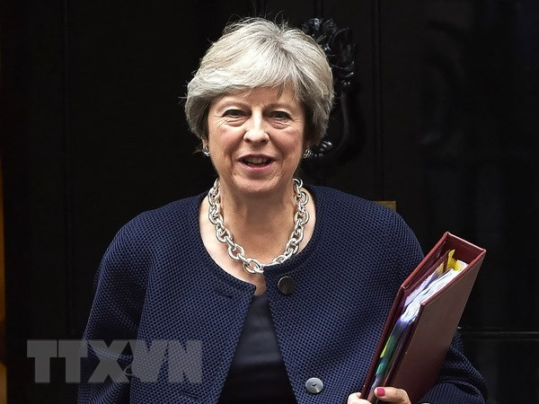 Theresa May confortée à Westminster lors d'un vote sur le Brexit - ảnh 1