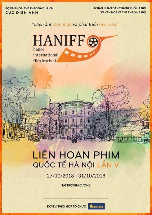 Bienvenue à la 5e édition du Festival international du Film de Hanoi en Octobre - ảnh 1
