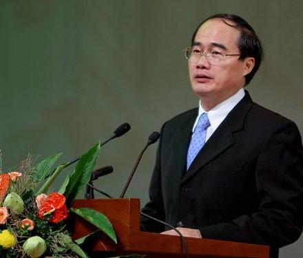 ឧបនាយករដ្ឋមន្រ្តី Nguyen Thien Nhan ជួបធ្វើការនៅខេត្ត Binh Dinh  - ảnh 1