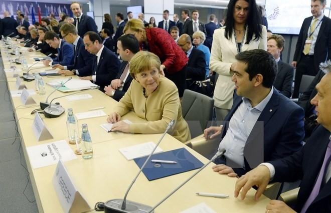 EU និង IMF ឯកភាពជំរុញការចរចារជាមួយក្រិកអំពីបំណុល - ảnh 1