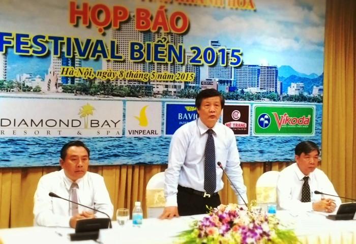 Festival សមុទ្រ Nha Trang ឆ្នាំ ២០១៥ នឹងទាក់ទាញការចូលរួមរបស់ ភ្ញៀវទេសចរណ៍ចំនួន ១៥០ ពាន់នាក់ - ảnh 1
