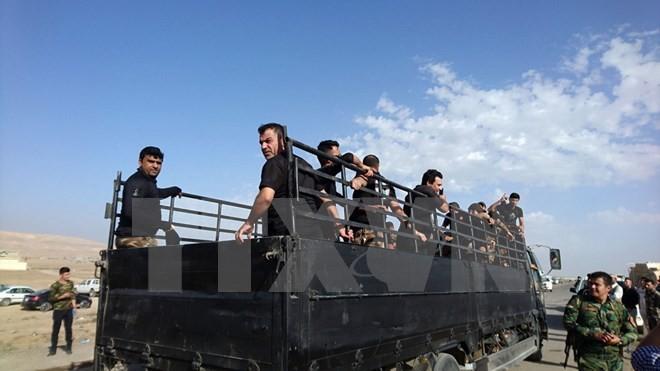 កងកម្លាំងសន្តិសុខអ៊ីរ៉ាក់ឈានចូលក្រុង Mosul - ảnh 1