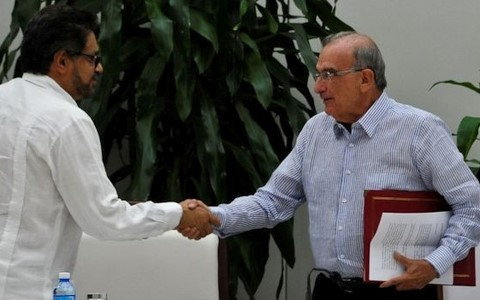 រដ្ឋាភិបាលកូឡុំប៊ីនិង FARC ទទួលបានកិច្ចព្រមព្រៀងសន្តិភាពថ្មី - ảnh 1