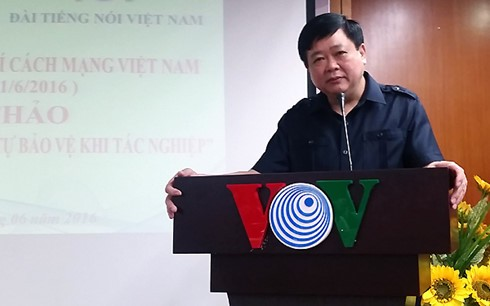 សេចក្ដីជូនពរឆ្នាំថ្មី២០១៧របស់អគ្គនាយកវិទ្យុផ្សាយសម្លេងវៀតណាមលោក Nguyen The Ky - ảnh 1