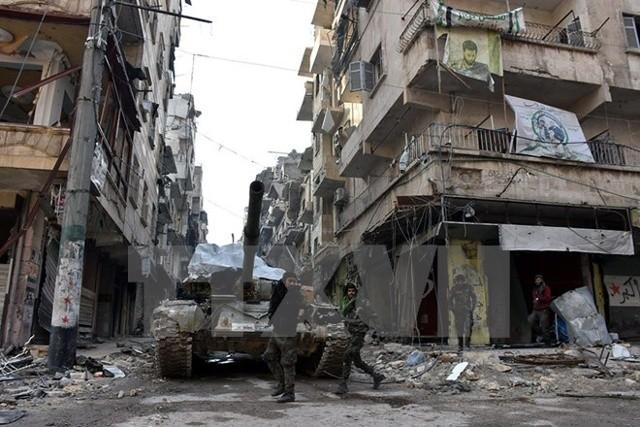 រដ្ឋាភិបាលស៊ីរីបានអនុម័តលើផែនការកសាង Aleppo ឡើងវិញ - ảnh 1