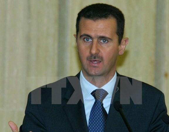 ប្រធានាធិបតី Bashar Al Assad មានសុទិដ្ឋិនិយមអំពីយថាទស្សន៍នៃ ការចរចារសន្តិភាពស៊ីរី - ảnh 1