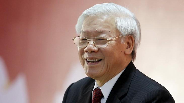 អគ្គលេខាបក្ស Nguyen Phu Trong ទទួលជួបសន្ទនាជាមួយប្រធានស្ថាប័នតំណាងការទូតបណ្ដាប្រទេសអាស៊ាន - ảnh 1