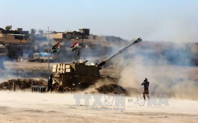 កំលាំងអ៊ីរ៉ាក់បន្តវាយប្រហារទៅលើទីក្រុង Mosul  - ảnh 1