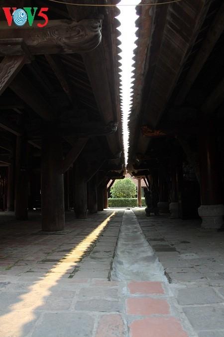 ស្ថាបត្យកម្មវិសេសវិសាលនៃវត្ត Keo នៅខេត្ត Thai Binh - ảnh 11