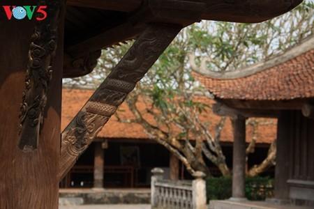 ស្ថាបត្យកម្មវិសេសវិសាលនៃវត្ត Keo នៅខេត្ត Thai Binh - ảnh 16