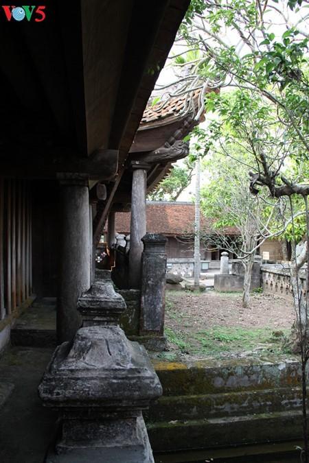 ស្ថាបត្យកម្មវិសេសវិសាលនៃវត្ត Keo នៅខេត្ត Thai Binh - ảnh 18