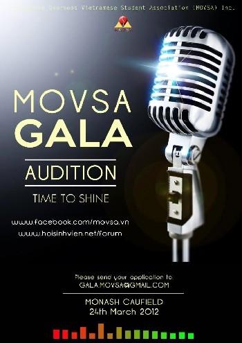 """Chung kết Movsa Gala 2012- cuộc thi """"Tiếng hát sinh viên Melbourne"""" - ảnh 1"""