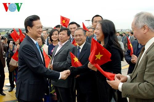 Thủ tướng Nguyễn Tấn Dũng thăm chính thức Vương quốc Bỉ - ảnh 1