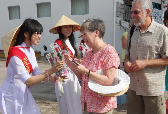 Tàu du lịch biển Star Pride lần thứ 3 đưa du khách đến Bình Định  - ảnh 1
