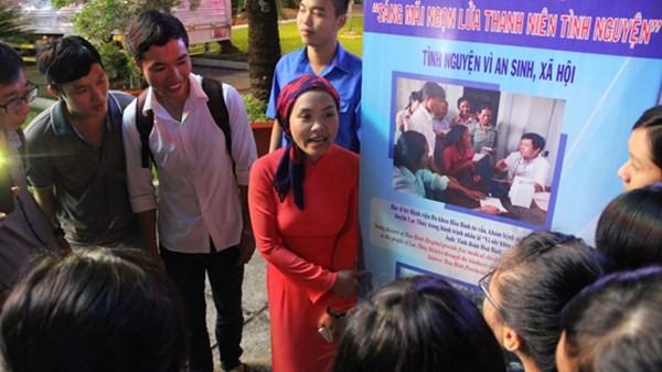 Kỷ niệm 15 năm phong trào thanh niên tình nguyện  - ảnh 1