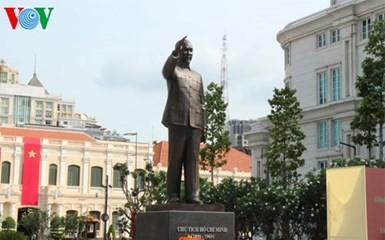 Tổng Bí thư dự Lễ khánh thành Tượng đài Chủ tịch Hồ Chí Minh tại Thành phố Hồ Chí Minh  - ảnh 1
