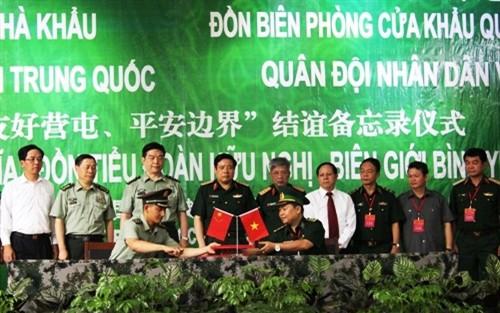 Giao lưu hữu nghị Quốc phòng biên giới Việt-Trung lần thứ hai thành công tốt đẹp - ảnh 1