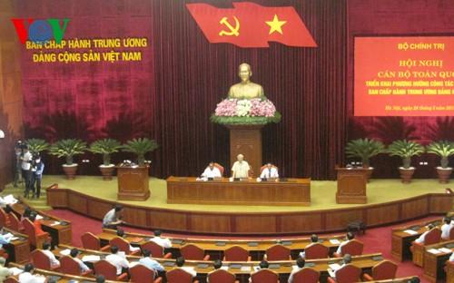 Hội nghị cán bộ toàn quốc triển khai phương hướng nhân sự Ban Chấp hành Trung ương Đảng khóa XII   - ảnh 1