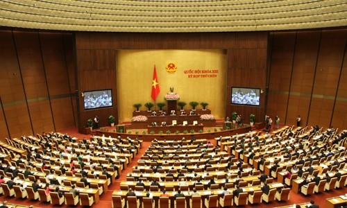Quốc hội thảo luận dự án Luật tài nguyên, môi trường biển và hải đảo  - ảnh 1