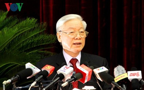 Chinese press highlights Vietnamese Party chief's visit - ảnh 1