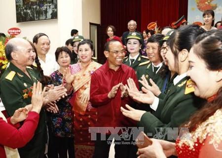 Laos Embassy celebrates Bun Pi May festival in Hanoi - ảnh 1