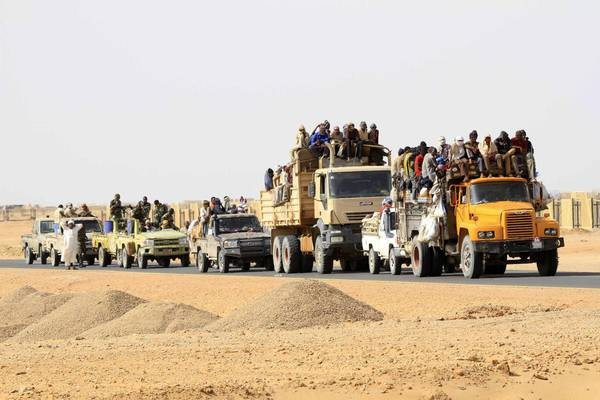 A thousand migrants rescued in the Niger desert - ảnh 1