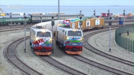 Baku-Tbilisi-Kars railway line officially launched - ảnh 1