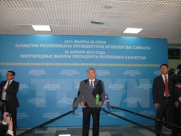 Нурсултан Назарбаев вновь избран президентом Казахстана - ảnh 1