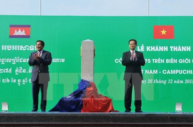 Демаркация границ между Камбоджей, Таиландом, Лаосом и Вьетнамом скоро будет завершена - ảnh 1