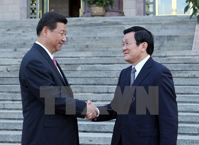 Руководители Вьетнама и Китая обменялись поздравительными телеграммами  - ảnh 1