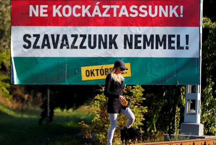 Венгерский премьер призвал граждан проголосовать против миграционных квот - ảnh 1