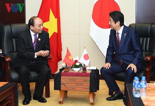 Япония и Вьетнам являются стратегическими партнерами - ảnh 1