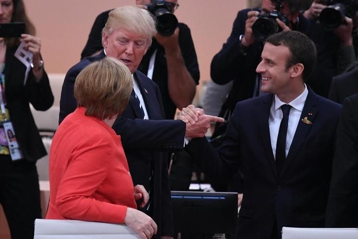 Лидеры стран G20 приняли коммюнике по итогам саммита в Гамбурге - ảnh 1