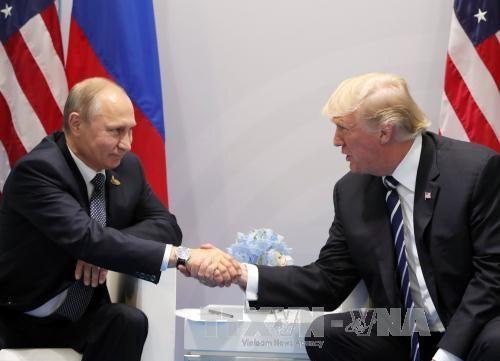 Путин выразил надежду на улучшение отношений с США после встречи с Трампом  - ảnh 1