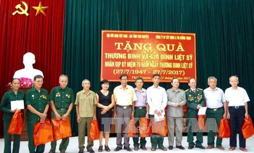 Мероприятия, посвященные Дню инвалидов войны и павших фронтовиков Вьетнама - ảnh 1