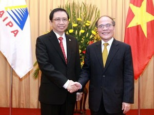 Le président de la chambre basse indonésienne poursuit sa visite au Vietnam - ảnh 1