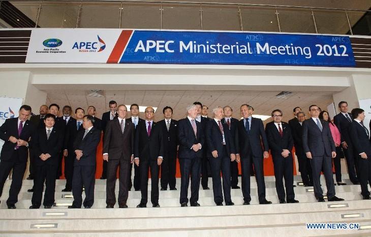 Ouverture de la conférence ministérielle de l'APEC à Vladivostock - ảnh 1