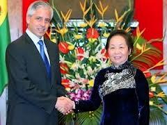 Le vice-président bolivien Alvaro Garcia Linera en visite au Vietnam - ảnh 1
