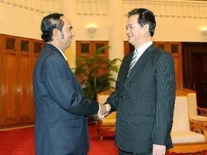 Nguyen Tan Dung reçoit le ministre cambodgien So Khun - ảnh 1