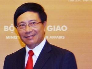 Pham Binh Minh à la 46ème conférence des ministres des Affaires étrangères de l'ASEAN - ảnh 1