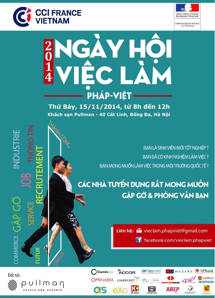 Forum d 39 emploi france vietnam 2014 for Chambre de commerce francaise au vietnam