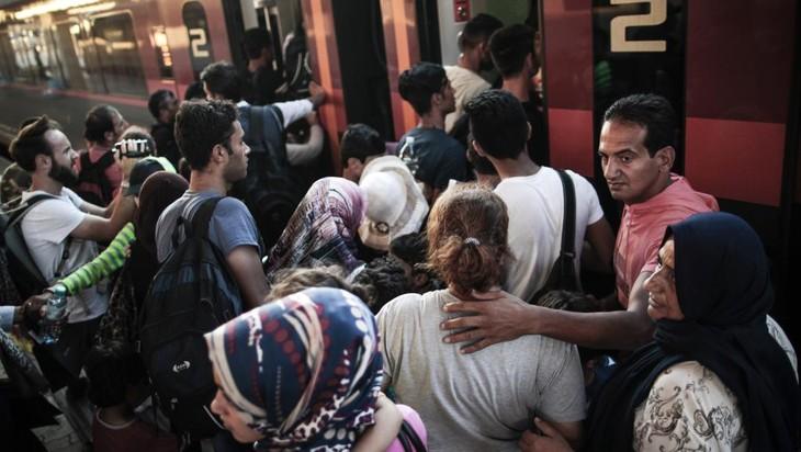 Allemagne: 400 migrants arrivent de Hongrie - ảnh 1
