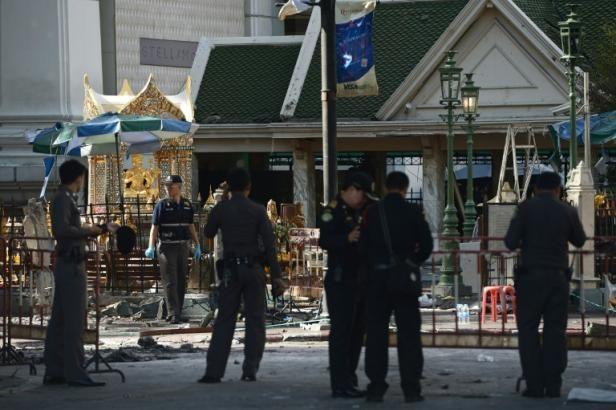 Attentat de Bangkok: Le suspect arrêté aurait été motivé par une «querelle privée» - ảnh 1