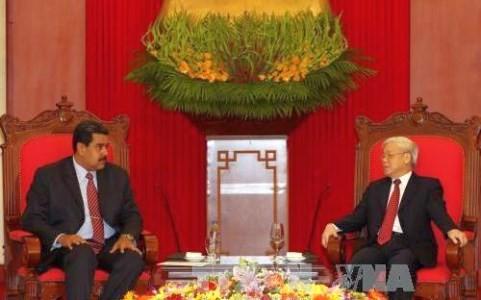 Le président vénézuélien termine sa visite au Vietnam - ảnh 1