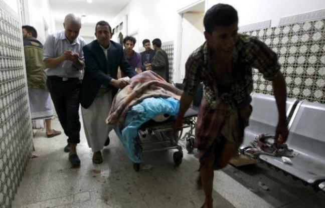 L'EI frappe une mosquée chiite au Yémen: 28 morts - ảnh 1