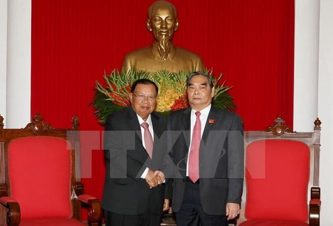 Le Vietnam veut pérserver l'amitié et la solidarité avec le Laos - ảnh 1