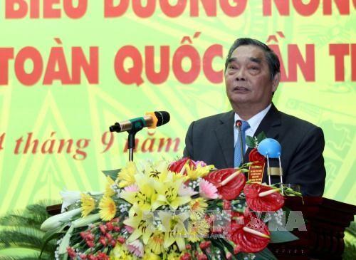 Le 4ème Congrès d'émulation patriotique de l'Association des paysans vietnamiens - ảnh 1