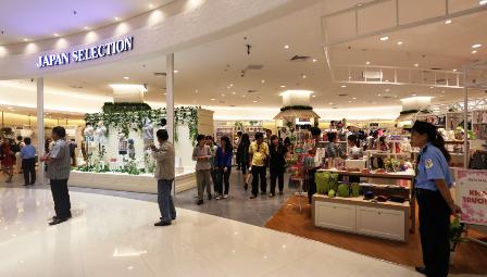 Le premier centre commercial japonais à Hanoi sera bientôt inauguré - ảnh 1