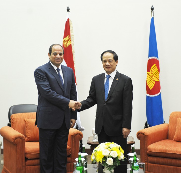 L'Egypte promeut la coopération multiforme avec l'ASEAN - ảnh 1