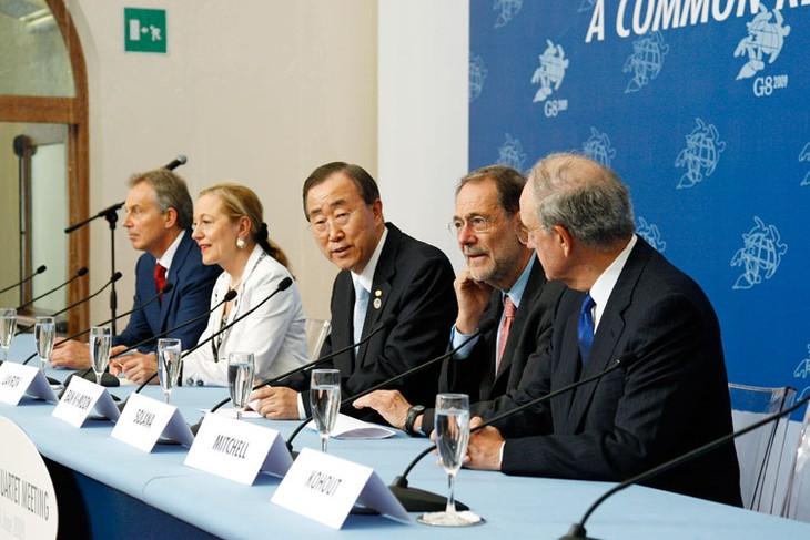 Proche-Orient : Ban invite trois pays arabes à une réunion du quartette - ảnh 1